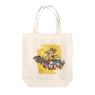 ネズミニョロニョロ虫 Tote bags