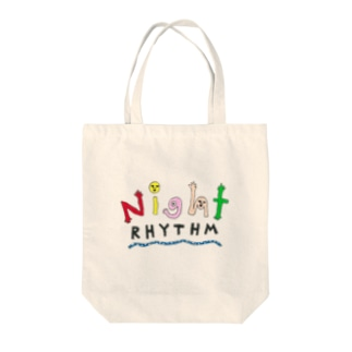 """Night Rhythm """"logo illustration"""" series -Others- Tote bags"""
