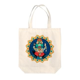 曼荼羅屋のガターシャ様 Tote bags