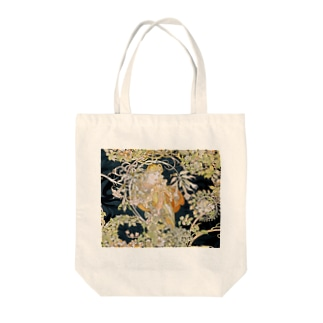 ミュシャ『 ヒナギクを持つ女性 』 Tote bags