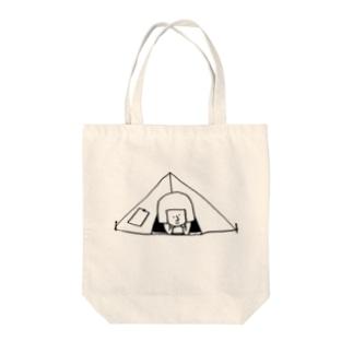 camp Tote bags