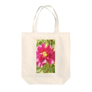 牡丹の花 Tote bags
