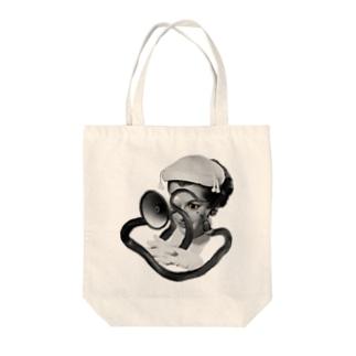 snakeちゃん Tote bags