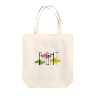 RIGHT Tote bags