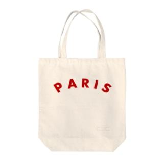 パリ Tote bags