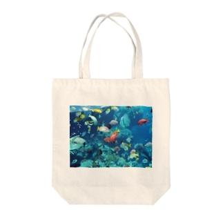 水族館 Tote bags