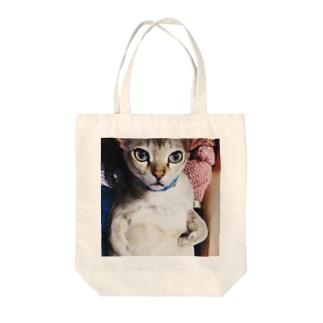 プンプン( ̄(工) ̄) Tote bags
