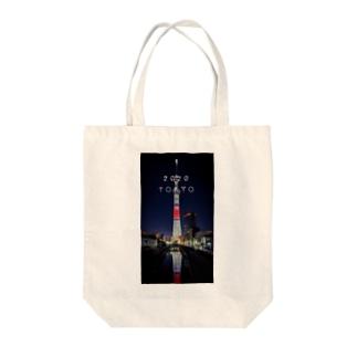 スカイツリー2020 Tote bags