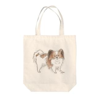 キノコ Tote bags