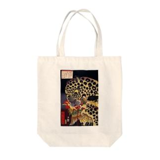 歌川広景 Tote bags
