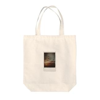 ポラロイド キリン🦒クレーン Tote bags