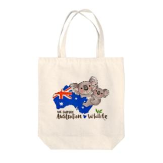 オーストラリアへの寄付 Tote bags