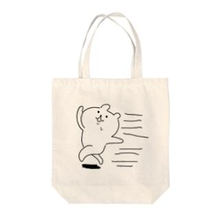 走れ!カカカカワチャムー! Tote bags