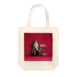 ドール写真:日時計を見る栗色の髪のガンファイター Doll picture: Sundial & girl Tote bags