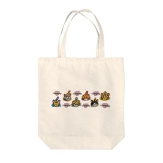 ハナピンク組 Tote bags