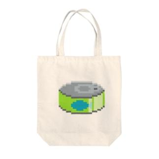 さかな缶 Tote bags