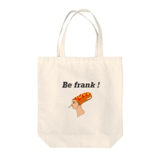Be frank !  トートバッグ Tote bags