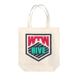 WTW HIVE Tote bags