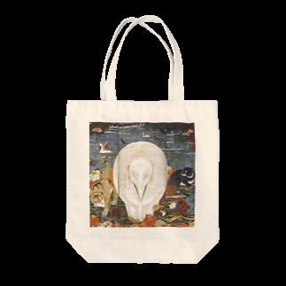 dohshinの伊藤若冲『 樹花鳥獣図屏風 』(右隻) Tote bags