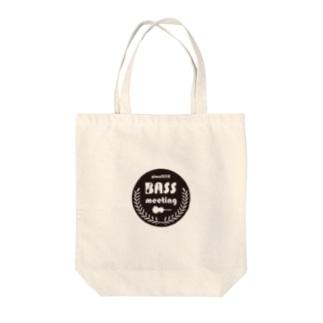 BASS MEETING Tote bags