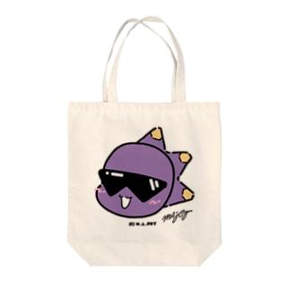 モグフェイス Tote bags