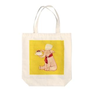 いろんなお仕事シリーズ~パティシエ~ Tote bags