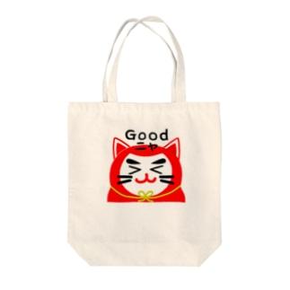 ねこだる01|Nekodaru01|LINESticker Tote bags