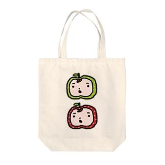 りんごまんず☆ Tote bags