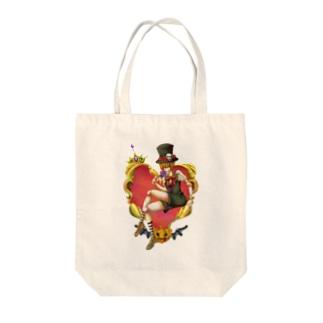 Prince of Halloween Tote bags