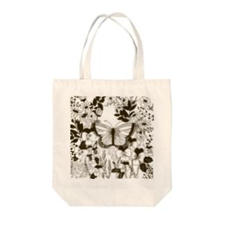 *蝶々* Tote bags