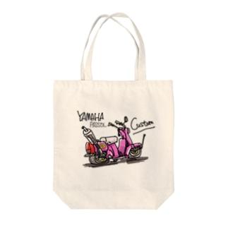 ヤマハパッソル Tote bags