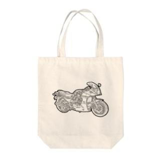 カワサキ・GPZ900R Tote bags