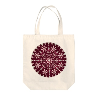 Advent snow(warm) Tote bags