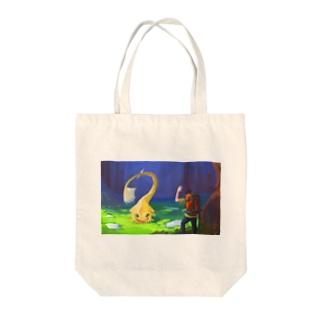 よお! Tote bags