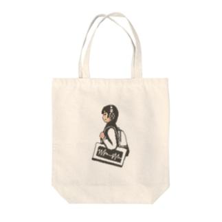 テサゲガール Tote bags