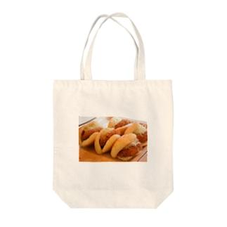 コロッケパン Tote bags