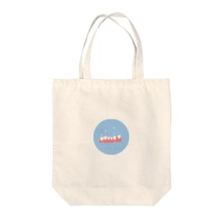 ポリデンタルソーダ Tote bags