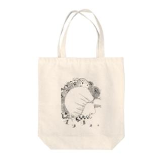 マッシュ。モノトーン Tote bags