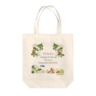 森は海の恋人寄付グッズ Tote bags