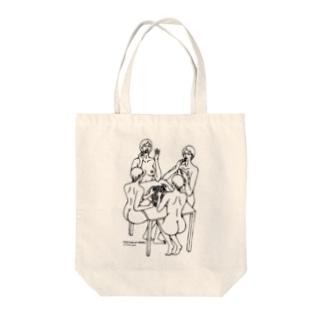 ぶどうのつゆ Tote bags