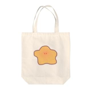 ホタテにいるアイツ Tote bags