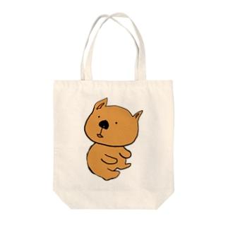 ウォンバット Tote bags