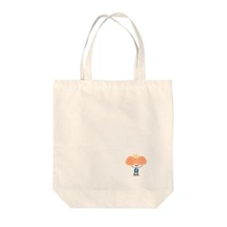 hanaco ポツン Tote bags