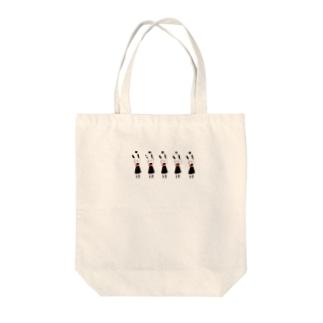 傷うさぎ Tote bags