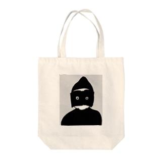 HON-KAMEN Tote bags