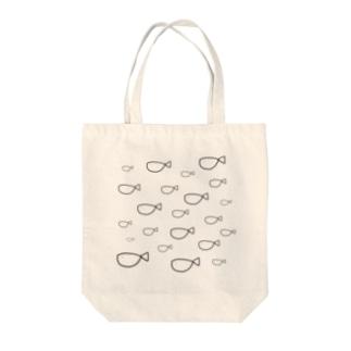稚魚 Tote bags
