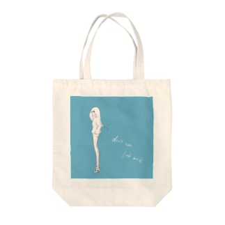 don't ever look back Tote bags