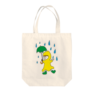 Shinnosuke Konoの楽しい雨 Tote bags
