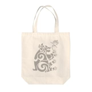中南米風のクマ Tote bags