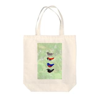 奄美の鳥たち四重奏♪ Tote bags